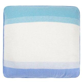 Array Cashmere Pillow, Blue For Sale
