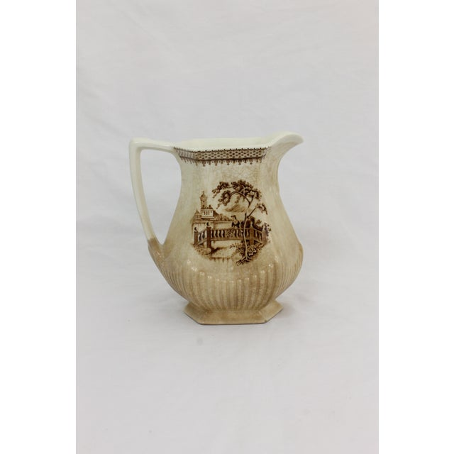 English Traditional Wm. Adams & Sons English Pitcher For Sale - Image 3 of 8