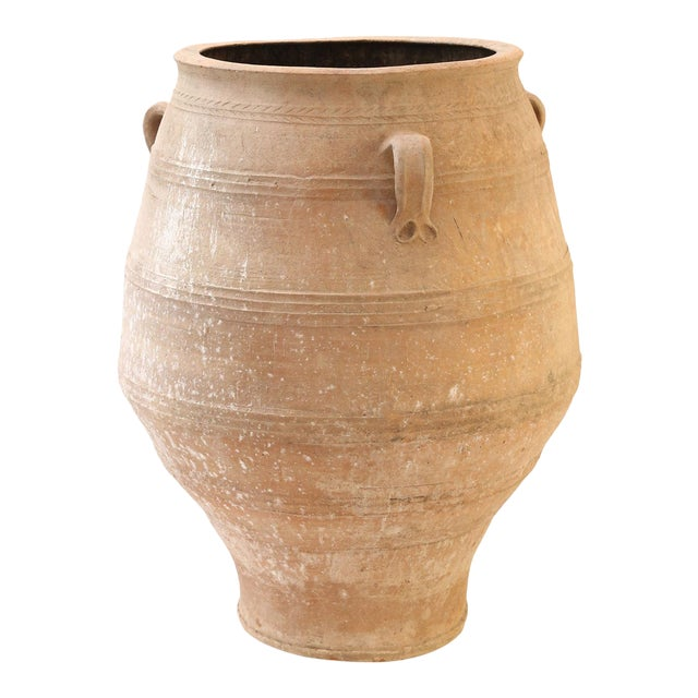 Antique Greek Olive Jar For Sale