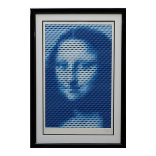 "Yvaral (Jean-Pierre Vasarely) ""Mona Lisa"" Serigraph For Sale"
