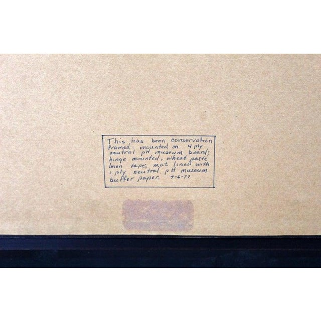 20th Century Framed Modern Illustration A.P. Litho Signed Norman Rockwell, 1936 For Sale - Image 9 of 11