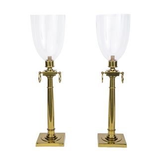 Tommi Parzinger Hurricane Table Lamps - Pair For Sale