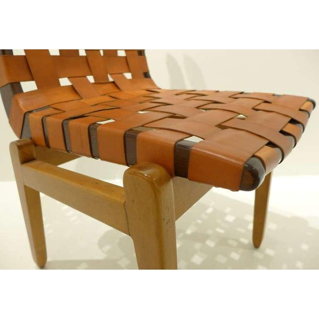 Tan Set of Six Abel Sorenson Chairs for Knoll For Sale - Image 8 of 9