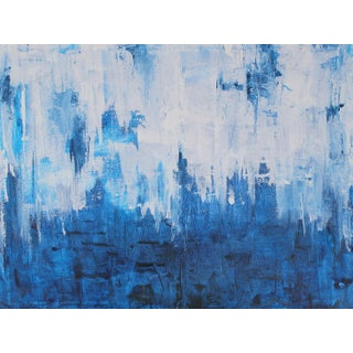 Blue Jazz Original Abstract Painting For Sale