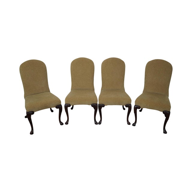 Ferguson Copeland Queen Anne Side Chairs - Set of 4 For Sale