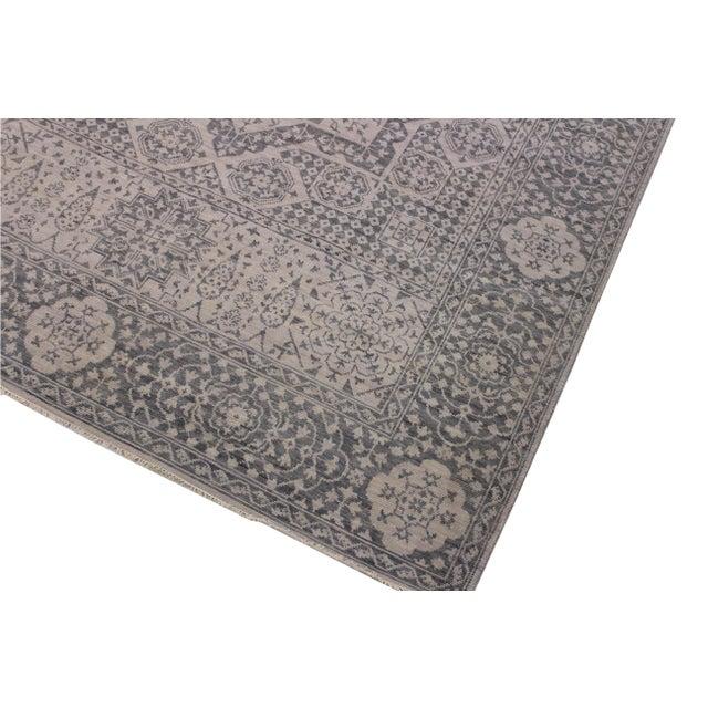 Traditional Mamluk Oushak Charmain Wool Rug - 9′1″ × 12′4″ For Sale - Image 3 of 6