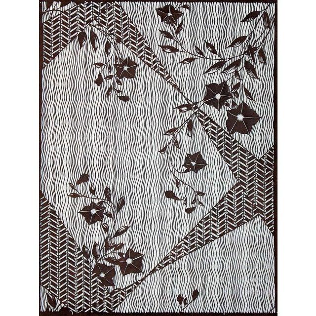 a15c7cc58 Asian Large Antique Japanese Kimono Fabric Print Design Hand-Cut Stencil  Katagami For Sale -