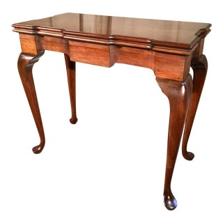 1900s Traditional Maple Console For Sale