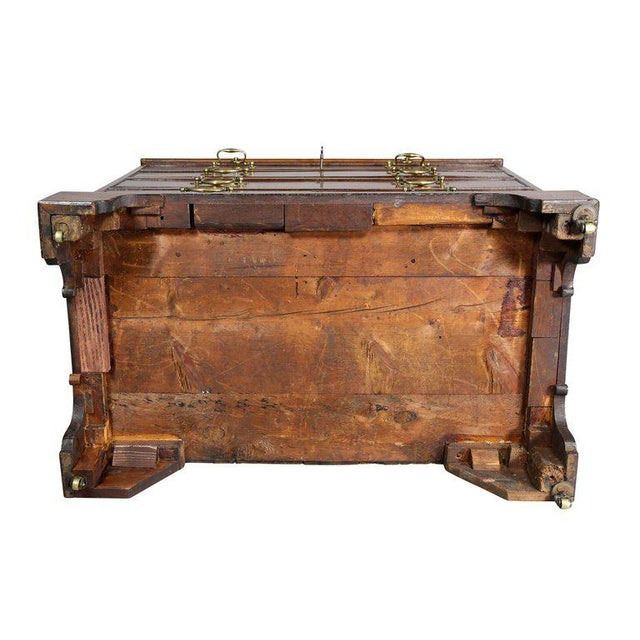 George III Mahogany Bachelors Chest For Sale - Image 9 of 10