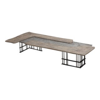 Pia Manu Authentic Coffee Table by Jules Dewaele For Sale