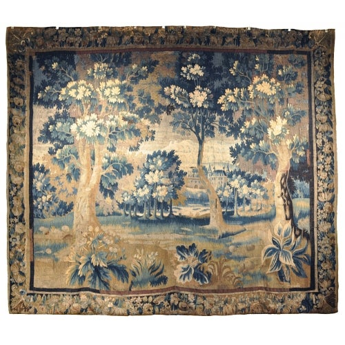 Circa 1760 Aubusson Tapestry For Sale - Image 10 of 10