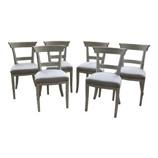 Ralph Lauren Neoclassical Dining Chairs - Set of 6