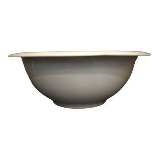 Vintage Minimal Villeroy & Boch Large Porcelain Bowl For Sale