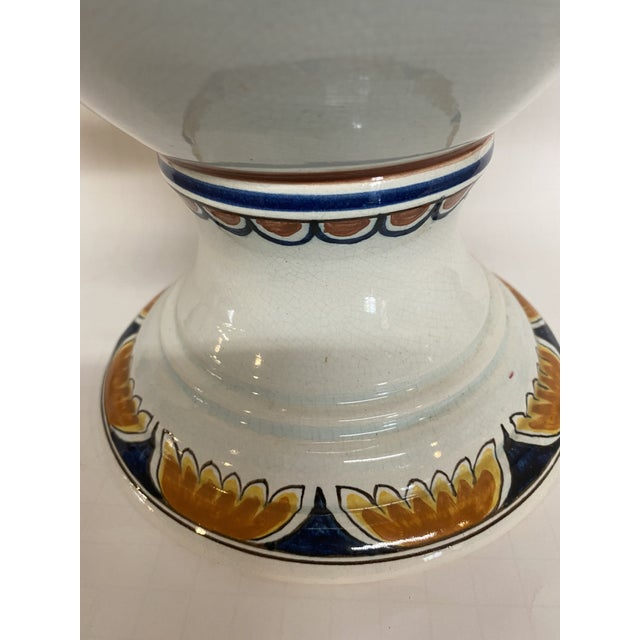 1920s 1920s Delft Apothecary Urn For Sale - Image 5 of 11