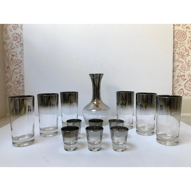 Dorothy Thorpe Style Glasses, Decanter & Shot Glasses - Set of 13 - Image 2 of 6