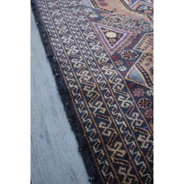 """Vintage Persian Balouch Rug - 2'9"""" X 4'5"""" - Image 9 of 9"""