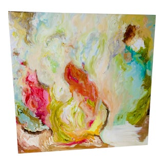 Abstract Oil Painting by Rebecca Cabassa For Sale