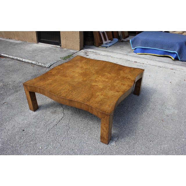 1970s Danish Modern Cherry Wood Coffee Table For Sale - Image 10 of 13