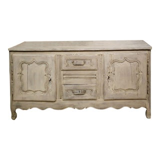 18th C Alsace Buffet, Oak Wood For Sale