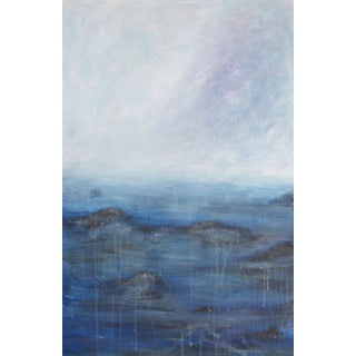 'Squall Ahead' Abstract Seascape Painting