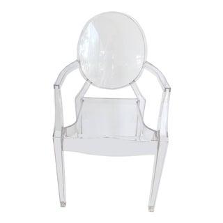 Mid-Century Modern Kartell Louis Acrylic Ghost Chair