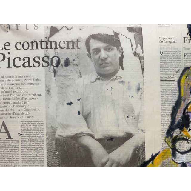'Picasso & His Model' Drawing - Image 4 of 9