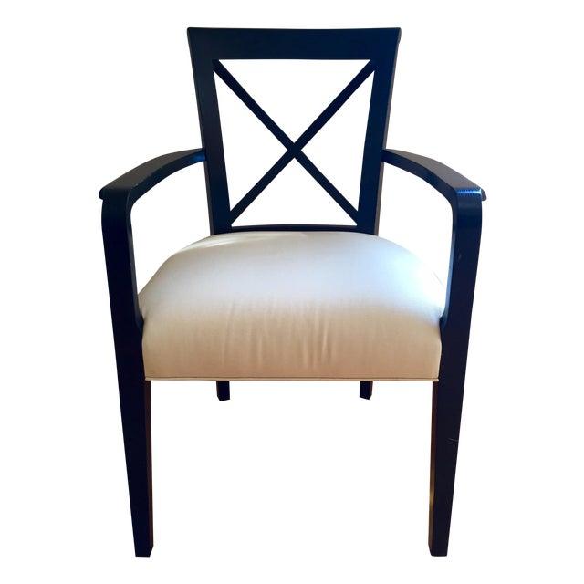 Ralph Lauren Black & White Accent Chair - Image 1 of 8