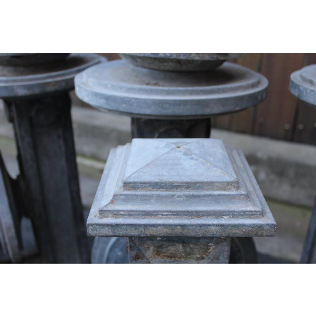 Set of Four Tin Sconces For Sale In San Francisco - Image 6 of 8