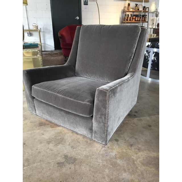 Mid-Century Modern Milo Baughman for James Club Chair For Sale - Image 3 of 6