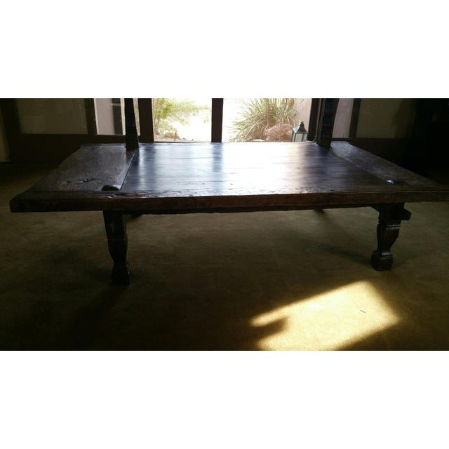 Teak Coffee Table From Bali - Image 2 of 5