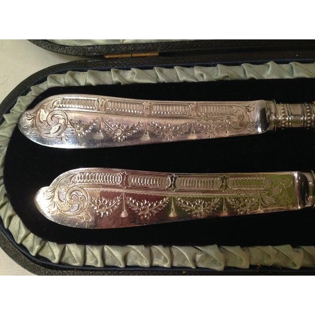 Vintage Victorian Master Butter Knives - Image 3 of 5