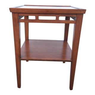 Arts and Crafts Style Mahogany Accent Table