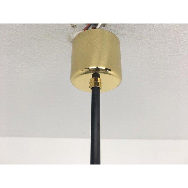 1950s Sputnik Pendant Chandelier Lamp in Different Colors For Sale - Image 6 of 9