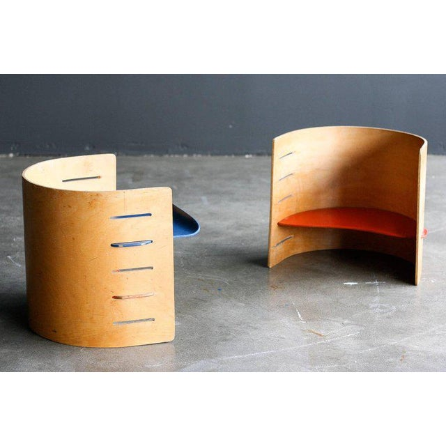 Traditional Two Child's Chairs by Kristian Vedel for Torben Orskov For Sale - Image 3 of 6
