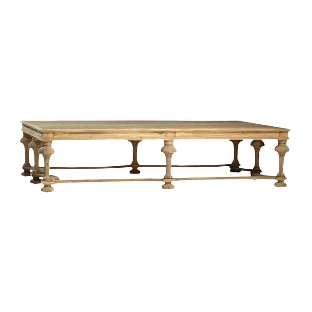 Reclaimed Turned Ballaster Coffee Table - Image 1 of 4