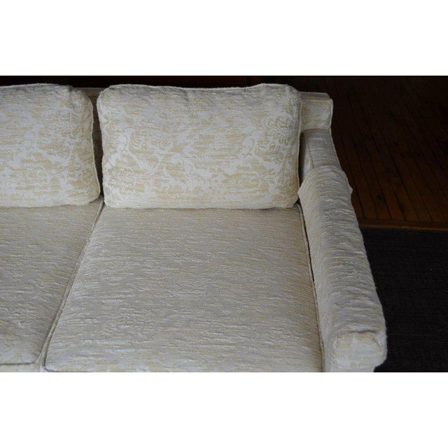 1960s Sofa From Flair Midcentury in Blended Cotton Felt For Sale - Image 5 of 13