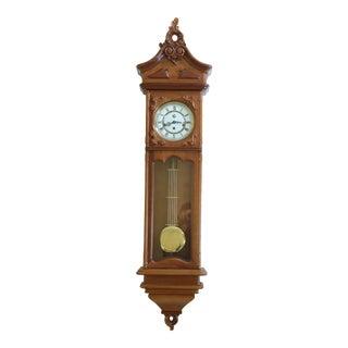 Westminster Wall Hanging Regulator Clock For Sale