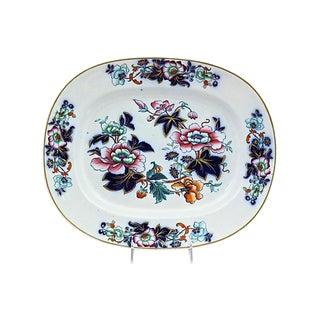 1850s Davenport Ironstone Platter