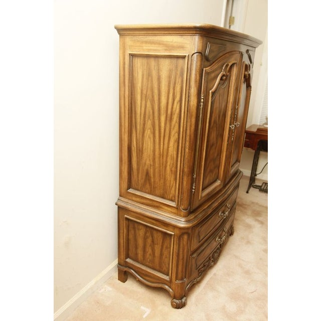 Vintage Century Furniture Armoire/Chest - Image 3 of 11