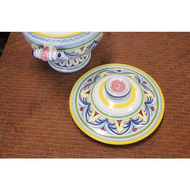 Ceramic Mid 20th Century Italian Tureen For Sale - Image 7 of 9