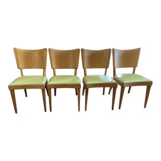 Vintage Heywood Wakefield Stingray Dining Chairs- Set of 4 For Sale