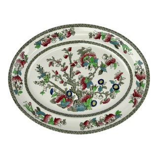 Johnson Brothers Indian Tree Serving Platter For Sale