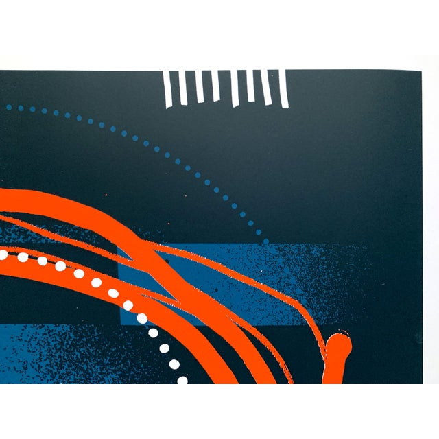 "Contemporary Abstract Limited Edition Print ""All Things in Motion"" by Erik Otto For Sale - Image 3 of 9"