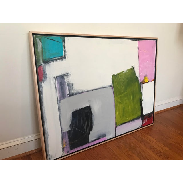2010s Spring Street Contemporary Abstract Painting For Sale - Image 5 of 10