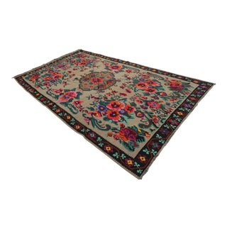 Turkish Kilim Handwoven Anatolia Rug - 7′5″ X 12′9″