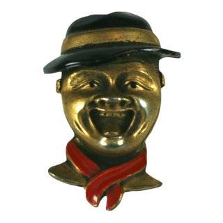 Art Deco Boy Scout Brooch For Sale