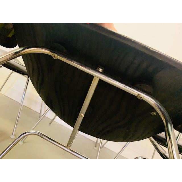 1960s Vintage Eames Dcm Chairs - Set of 6 For Sale - Image 9 of 12