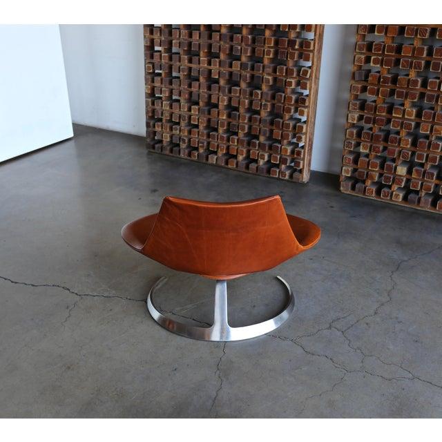 Preben Fabricius & Jørgen Kastholm Scimitar Chairs by Ivan Schlecter Circa 1965 For Sale - Image 10 of 11