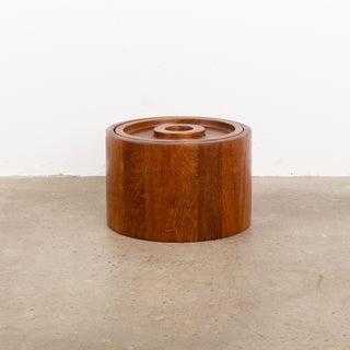 1960s Scandinavian Jens Quistgaard Ihq Dansk Staved Teak Banded Ice Bucket Preview