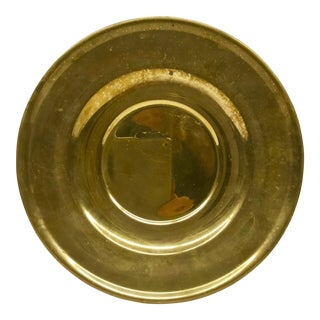 Vintage Solid Brass Charger Dirilyte